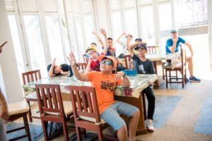 Rugby School Thailand pupils